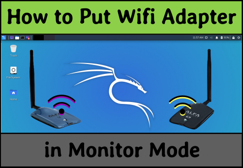 How to Put Wifi Adapter in Monitor Mode