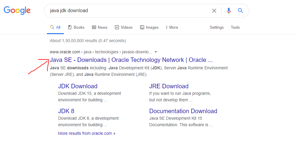 download java jdk on windows 10
